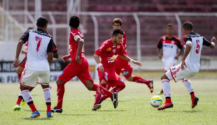 Copinha - Noroeste x Flamengo (Foto: José Luis Silva/Agência Estado)