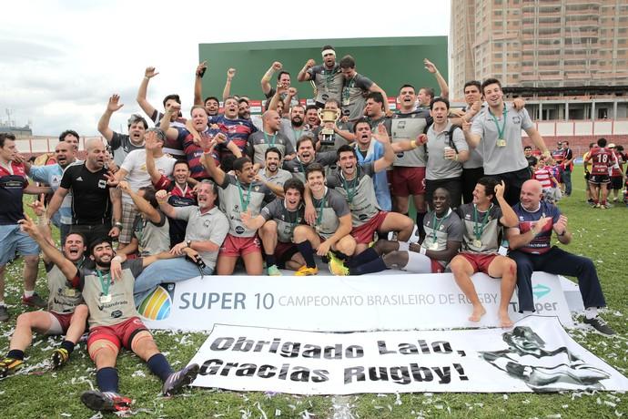 Curitiba é campeão brasileiro de rugby (Foto: Divulgação)