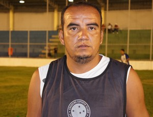 Delany, atacante do Cruzeiro de Itaporanga (Foto: Larissa Keren)