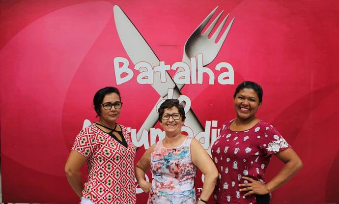 Elissan, Isabel e Silvanira são as finalistas da 'Batalha do Arrumadinho' (Foto: Programão )
