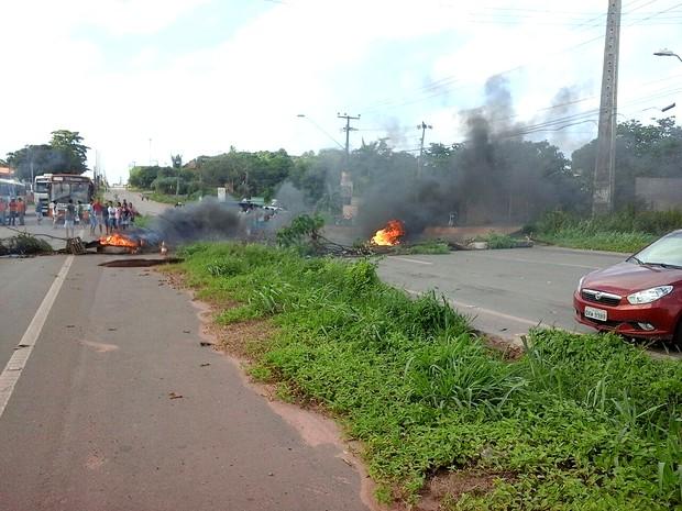 Moradores pedem segurança pública na Vila Maranhão, em São Luís (MA) (Foto: Divulgação/PRF-MA)