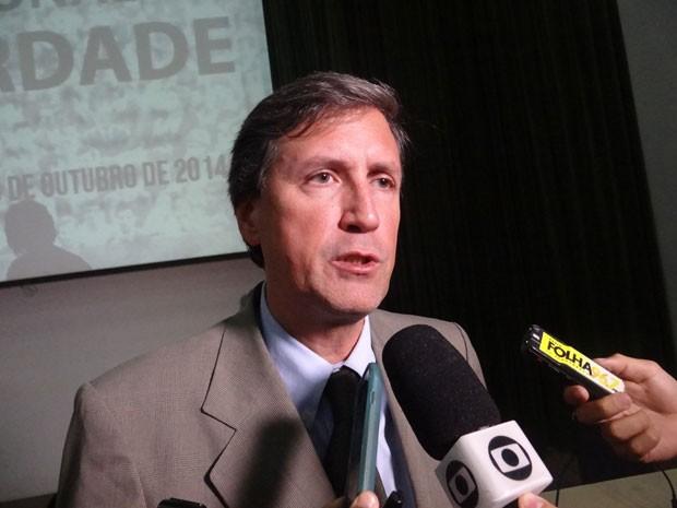 Cordenador da CVN, Pedro Dellari, considerou positivo o resultado da audiência (Foto: Luna Markman/G1)