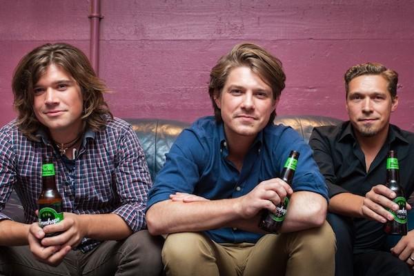 Os três irmãos Hanson (Foto: Divulgação)