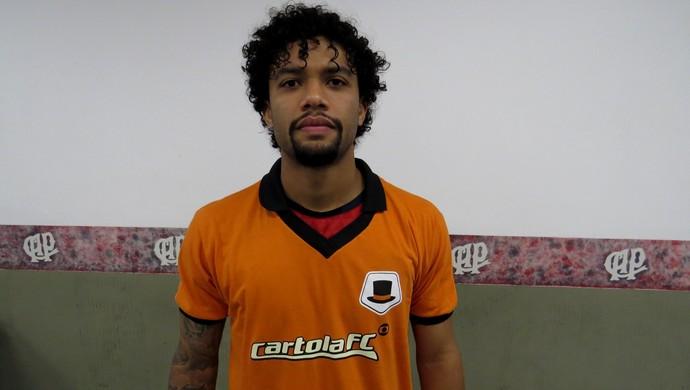 Volante Otávio; Atlético-PR; Cartola FC (Foto: Fernando Freire)