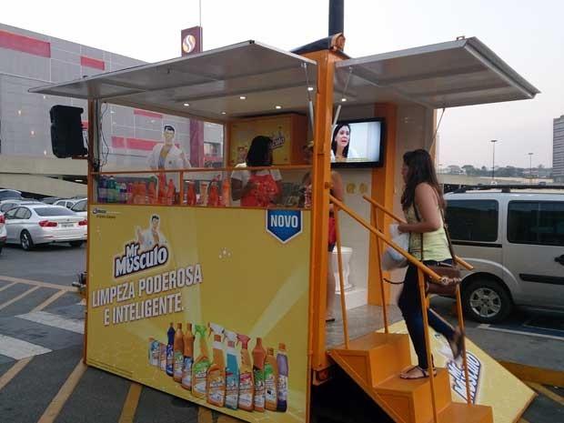 Cozinha Itinerante do Mr Músculo®  em Osasco-SP (Foto: Divulgação)