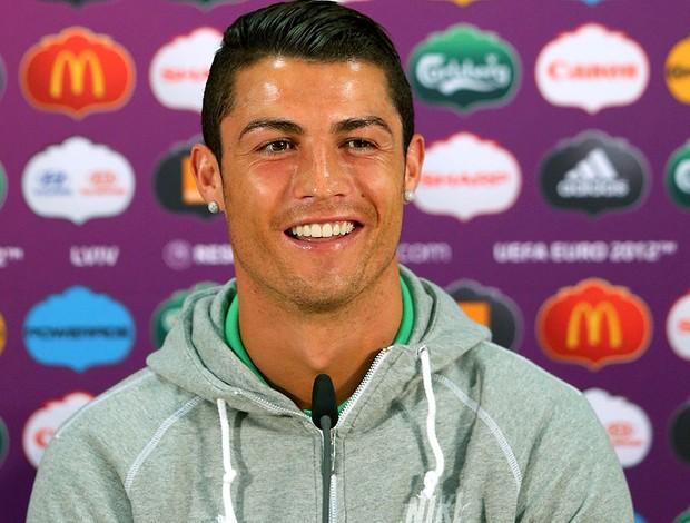 Coletiva Cristiano Ronaldo Portugal (Foto: Getty Images)