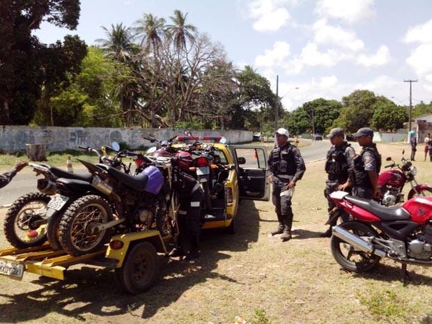 Operação Balneário Seguro aconteceu de 24 a 26 de janeiro, em Extremoz (Foto: Divulgação/Polícia Militar do RN)