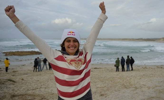 Nicole Pacelli é campeã mundial de Stand Up Paddle (Foto: Divulgação / Waterman League )