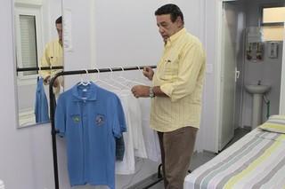 Jorge Perlingeiro posa para o EGO (Foto: Isac Luz/EGO )