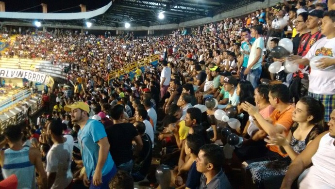 São Raimundo venceu o Fortaleza por 2 a 1 e garantiu a classificação na Copa do Brasil (Foto: Ronnie Dantas)
