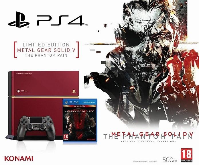 392718330a PlayStation 4 receberá edição limitada de Metal Gear Solid 5 ...