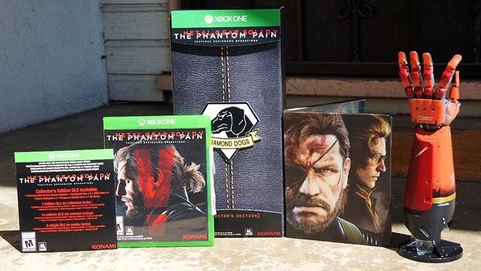 The Phantom Pain também tem edição limitada para Xbox One (Foto: Divulgação/Konami)