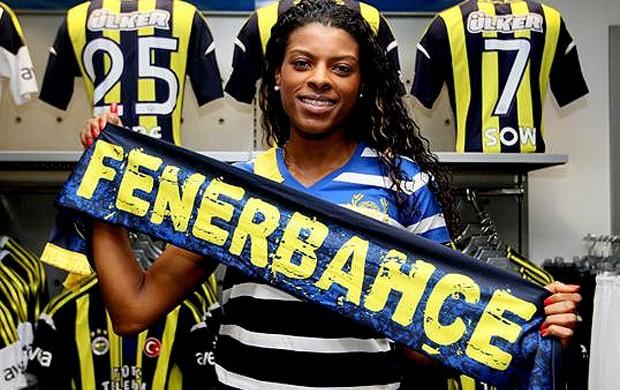 vôlei Fernanda garay Fenerbahçe (Foto: Divulgação)