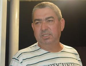 Domício Leite, presidente do Lucena (Foto: Hévilla Wanderley / GloboEsporte.com/pb)