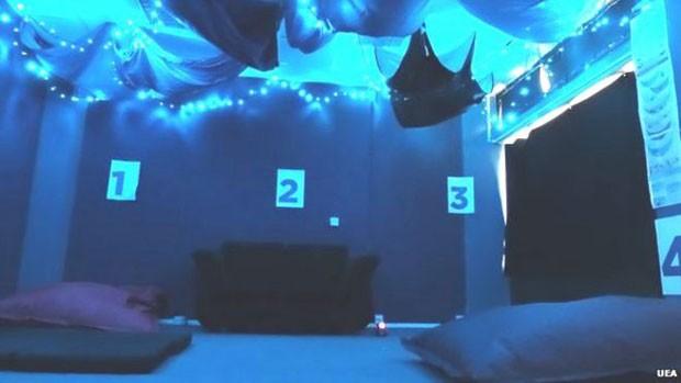 Iniciativa partiu de centro acadêmico; espaço tem pufes, sofás-camas, travesseiros antialérgicos, máscaras para dormir e cortinas com blecaute (Foto: UEA)