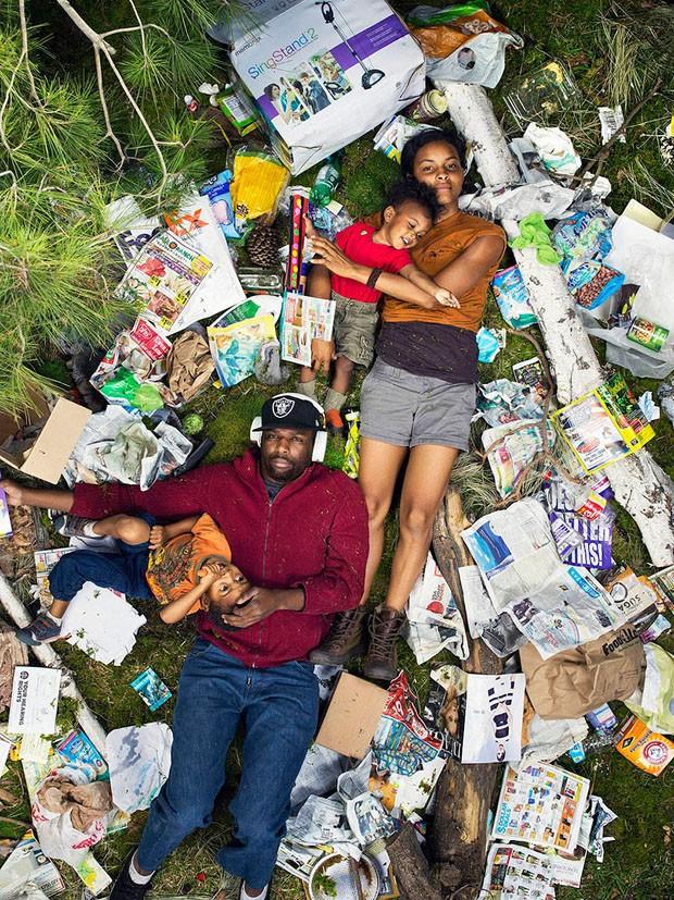 7 dias de lixo (Foto: Gregg Segal / Divulgação)