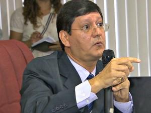 Pormotor de Justiça Paulo Stélio Sabbá (Foto: Reprodução/TV Amazonas)