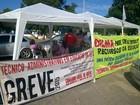 Em greve há quase dois meses, trabalhadores da UFS fazem protesto