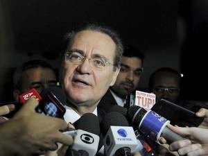 O presidente do Senado, Renan Calheiros (PMDB-AL), afirma que disponibilizará sigilos ao STF (Foto: Jane de Araújo / Agência Senado)