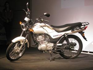 Suzuki GS120 (Foto: Rafael Miotto/G1)
