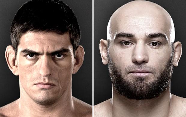 Montagem MMA - Paulo Thiago x Gasan Umalatov (Foto: Reprodução/UFC)