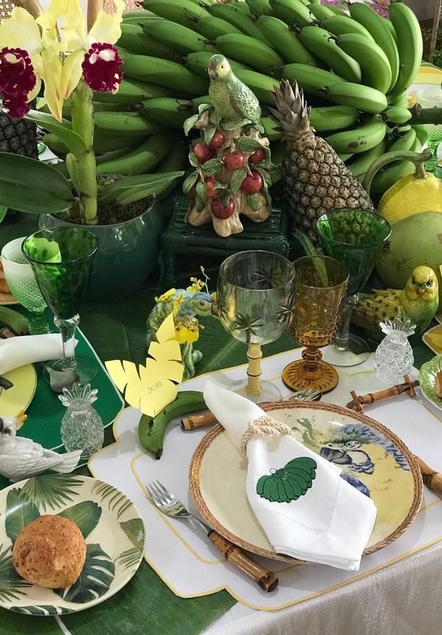 Almoço de 1º de janeiro de Marcos Proença (Foto: Arquivo Pessoal)