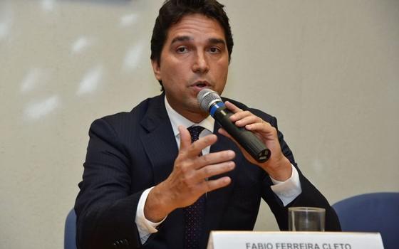 Fábio Cleto, ex-vice-presidente da Caixa (Foto: Valter Campanato/Agência Brasil)