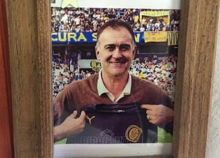 Ricardo Oso Ferrero ex-goleiro Rosario Central Grêmio Libertadores (Foto: Eduardo Moura/GloboEsporte.com)