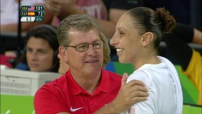 Melhores momentos: Estados Unidos 101 x 72 Espanha pela final do basquete feminino