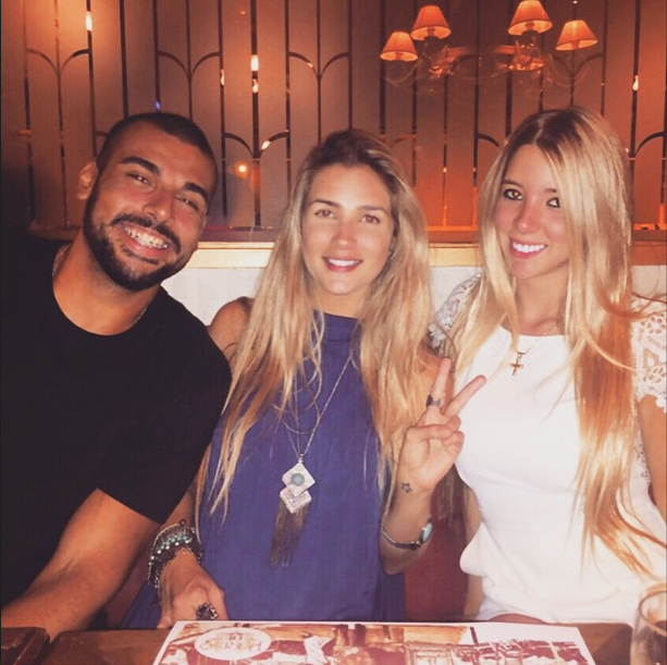 Iury Machado, Aline Gotschalg e amiga (Foto: Reprodução/Instagram)