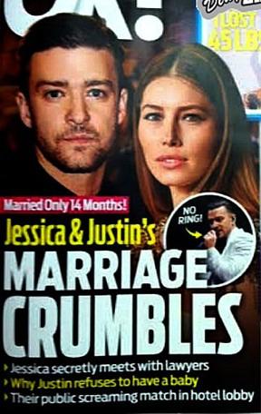 Revista aponta Thaila Ayala como pivô da separação de Justin Timberlake e Jessica Biel (Foto: Reprodução)