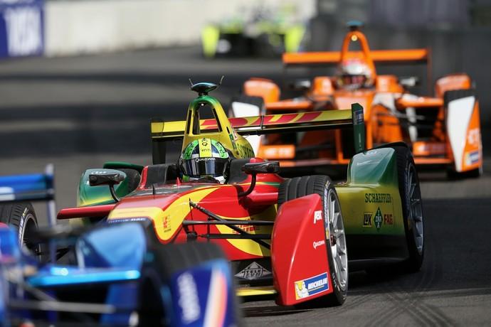 Lucas di Grassi em ação na etapa de Londres da Fórmula E (Foto: Divulgação)