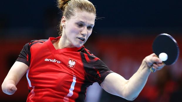 Natalia Partyka x Li Jie, Tenis de Mesa (Foto: Agência AP)
