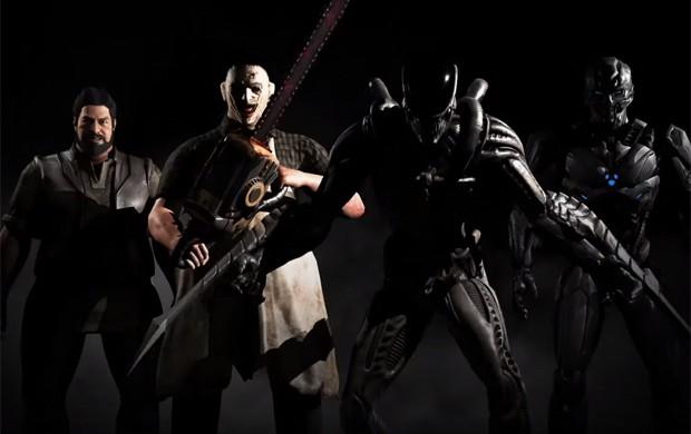 Bo' Rai Cho, Leatherface, Alien e Triborg são alguns dos novos lutadores inclusos em 'Mortal Kombat XG' (Foto: Reprodução/YouTube/Mortal Kombat Community)