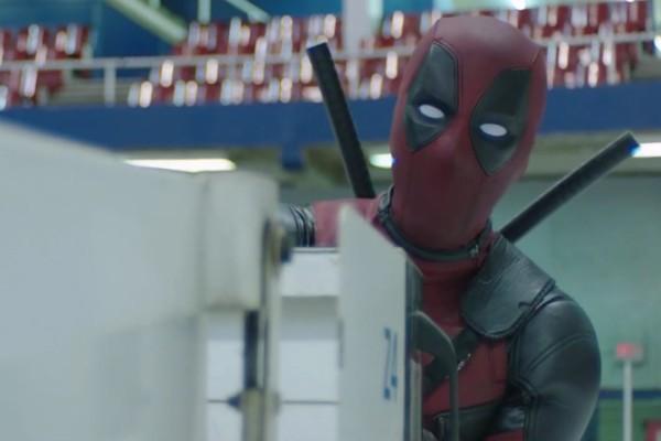 O ator Ryan Reynolds no papel do mutante Deadpool (Foto: Reprodução)