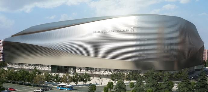 Estádio Santiago Bernabéu (Foto: divulgação)