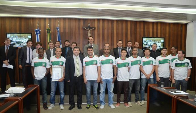 Cabo Frio é homenageada pela Câmara Municipal após campanha na Liga Futsal (Foto: Divulgação)