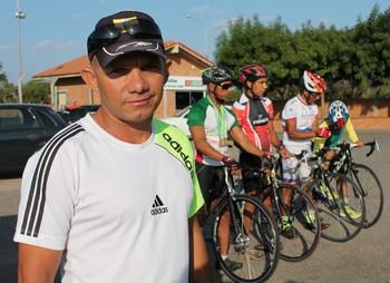 Paraciclistas de Petrolina (Foto: Amanda Lima)