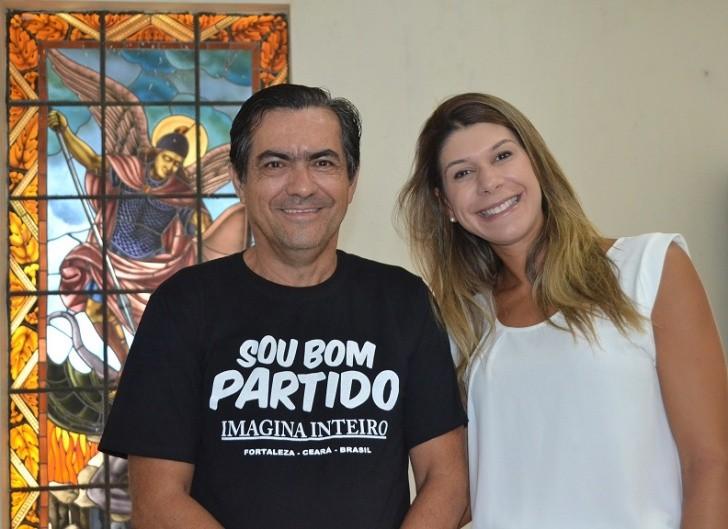 Luiz Nunes e Mariana Suassuna
