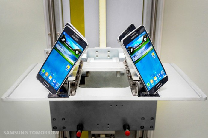 Veja como é feita a carcaça metálica do Galaxy Alpha (Foto: Divulgação/Samsung) (Foto: Veja como é feita a carcaça metálica do Galaxy Alpha (Foto: Divulgação/Samsung))