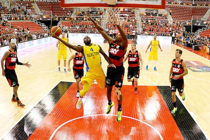 Flamengo X Maccabi, copa intercontinental de Basquete (Foto: Divulgação / FIBA)