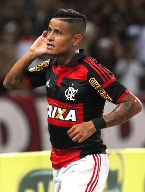 Everton comemora gol do Flamengo contra o Boavista (Foto: Gilvan de Souza / Flamengo)