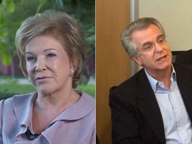 Marta e Matarazzo formam chapa para disputar Prefeitura de SP (Foto: Reprodução/TV Globo e Tahiane Stochero)