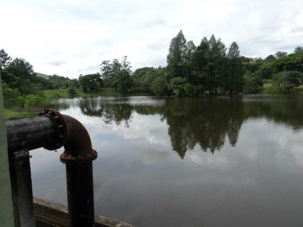 Em 2015, capacidade da represa de Santo Antônio está acima dos 90% (Foto: Divulgação / Águas de Itu)