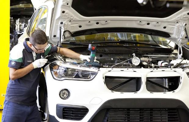 BMW X1 fabricado no Brasil (Foto: Divulgação)