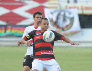 Santa Cruz x Campinense - Memo - Warley (Foto: Aldo Carneiro/Pernambuco Press)