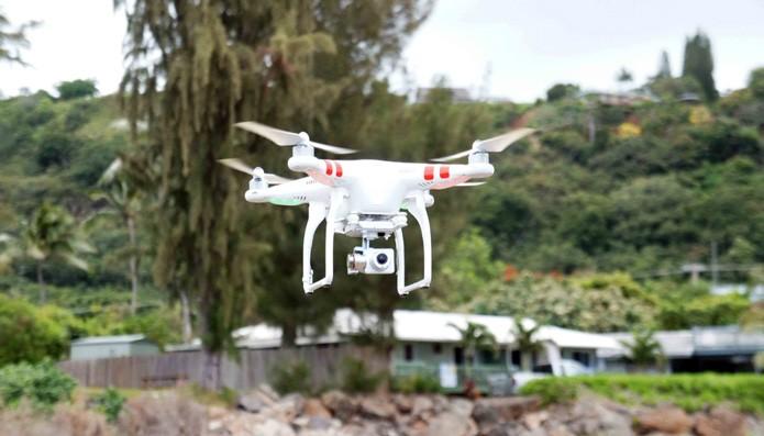 Drones de marcas como a DJI usam câmeras da GoPro atualmente (Foto: Reprodução/Engadget)