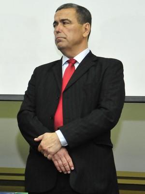 Marcus Vicente, presidente da Federação de Futebol (FES) (Foto: Bruno Coelho)