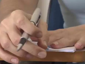 Concurseiros do Vale do Paraíba mantém foco nos estudos (Foto: Reprodução / TV Vanguarda)