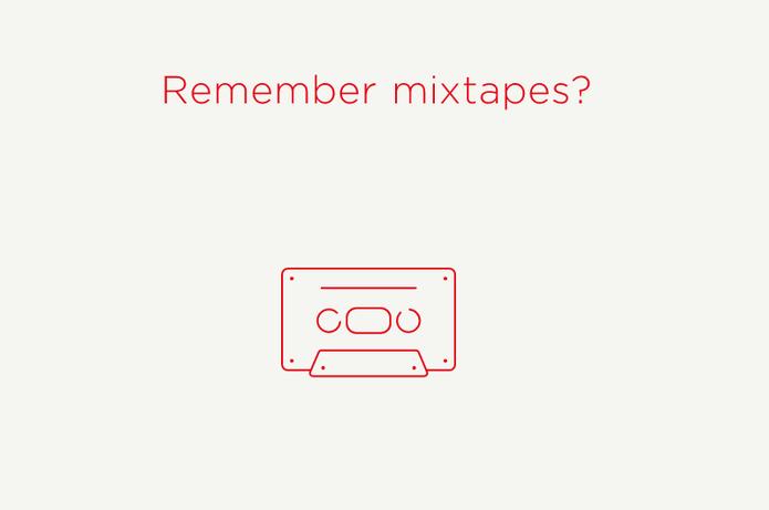 A proposta do Flixtape é ser uma versão moderna e digital dos velhos mixtapes (Foto: Reprodução/Camila Peres)